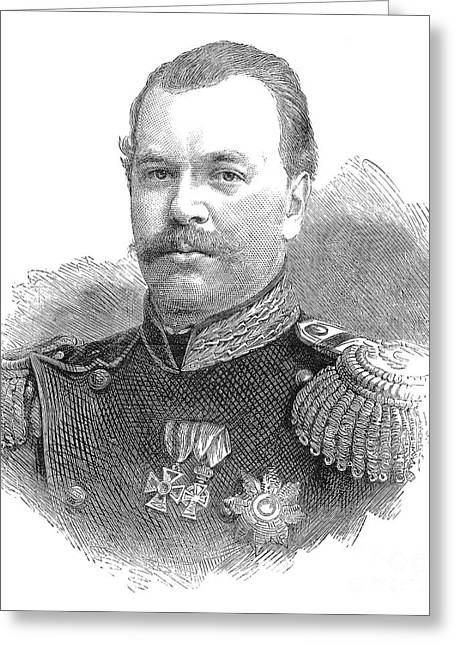 Romanov Greeting Cards - Alexander Iii (1845-1894) Greeting Card by Granger