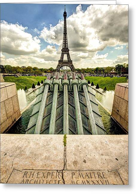 Dream Scape Greeting Cards - Aligned Pinnacle Greeting Card by Michael Ritz