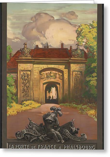 Alsace Greeting Cards - Alsace and Lorraine Railways Greeting Card by David Wagner