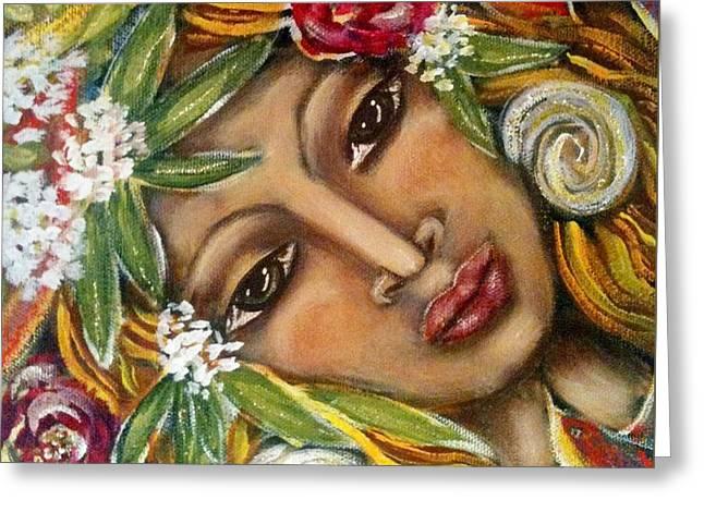 Amazonia Greeting Card by Maya Telford