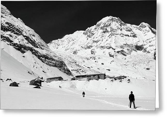 Annapurna South 7219m Greeting Card by Aidan Moran