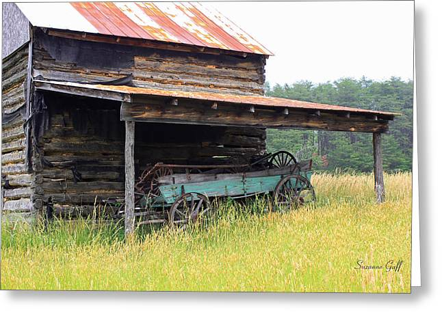 Tin Roof Greeting Cards - Another Time Greeting Card by Suzanne Gaff