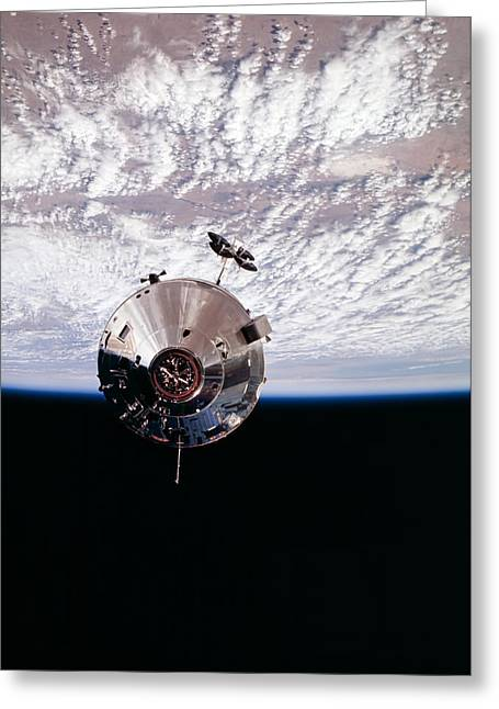 Apollo 9 Greeting Card by Peter Chilelli
