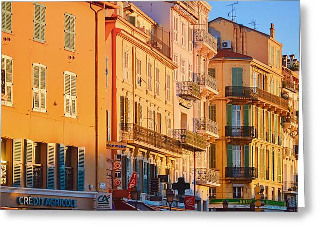 Cannes Greeting Cards - Architecture of Cannes Greeting Card by Stokpic