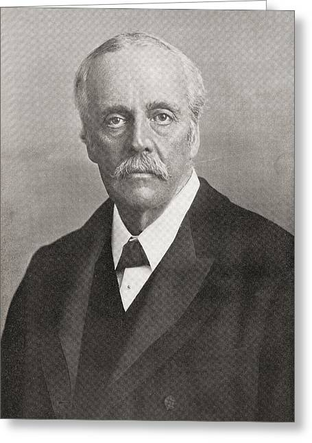 Conservative Greeting Cards - Arthur James Balfour, 1st Earl Of Greeting Card by Vintage Design Pics