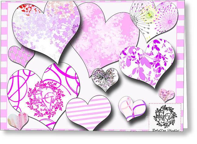 Juvenile Wall Decor Greeting Cards - Artyzen Studios Art Licensing Samples Greeting Card by ArtyZen Studios