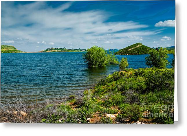Carter House Greeting Cards - At Waters Edge Greeting Card by Jon Burch Photography