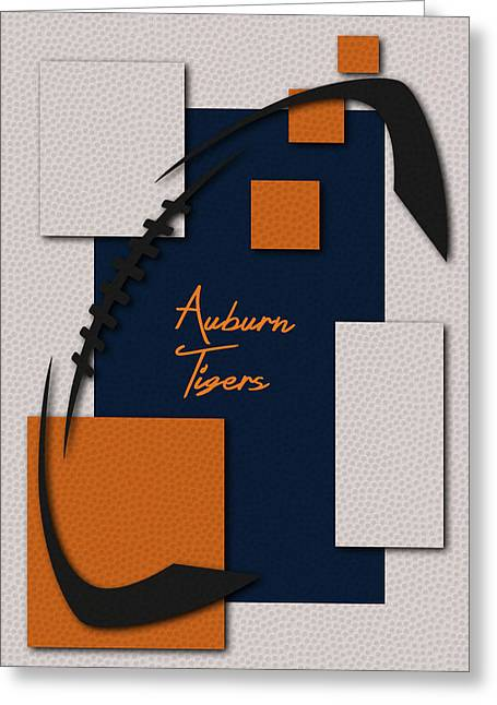 Auburn Tigers Greeting Card by Joe Hamilton