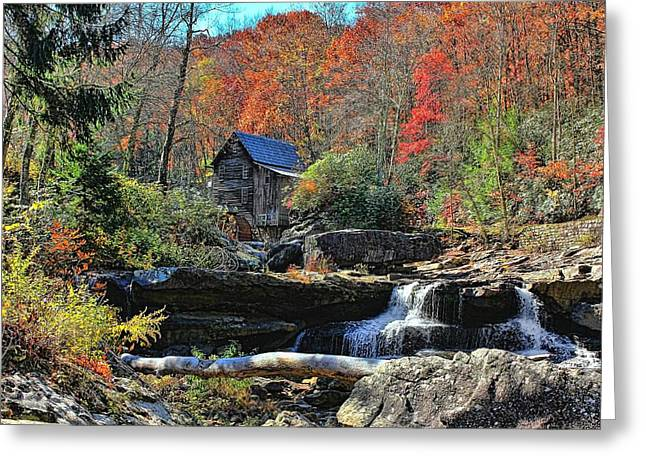 Autumn In The Country Greeting Cards - Autumn In West Virginia  Greeting Card by Lanis Rossi