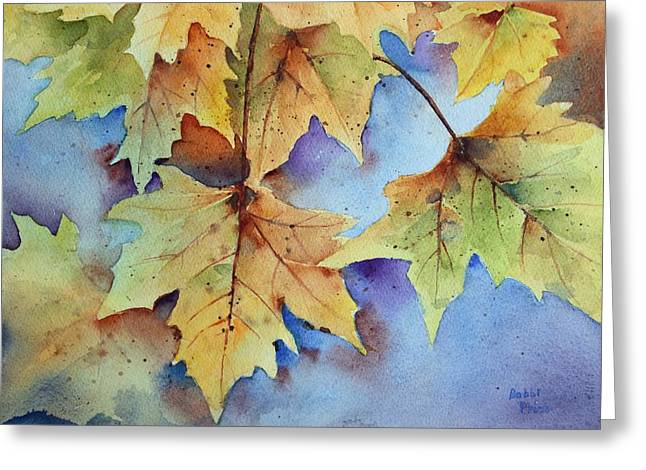 Autumn Splendor Greeting Card by Bobbi Price