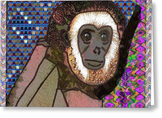 Raining Greeting Cards - BA BA Monkey from the City by NavinJoshi at FineArtAmerica  Greeting Card by Navin Joshi