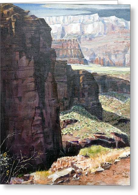 Back Of Zion Greeting Card by Bob Duncan