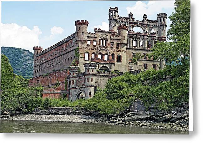 Arsenal Greeting Cards - Bannerman Castle on Pollepel Island in the Hudson River New York Greeting Card by Brendan Reals