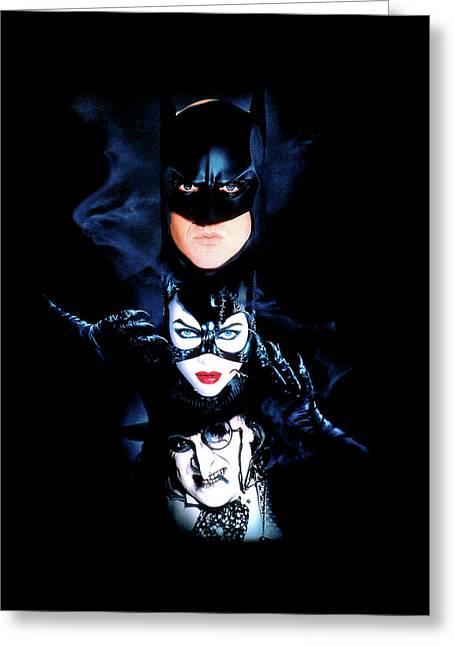 Batman Returns 1992  Greeting Card by Caio Caldas