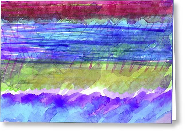 Transparency Geometric Digital Greeting Cards - Beautiful Avenue - digital Greeting Card by Heidi Capitaine