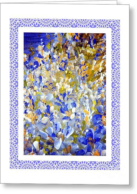 Featured Art Greeting Cards - Beautiful Greeting Card by Oksana Semenchenko