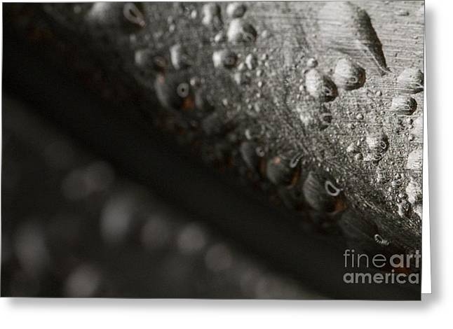 Sweating Greeting Cards - Beer Equipment Condensation Greeting Card by P Jeff Smith