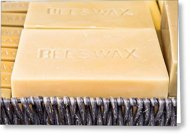 Beeswax Greeting Cards - Beeswax  Greeting Card by Tom Gowanlock
