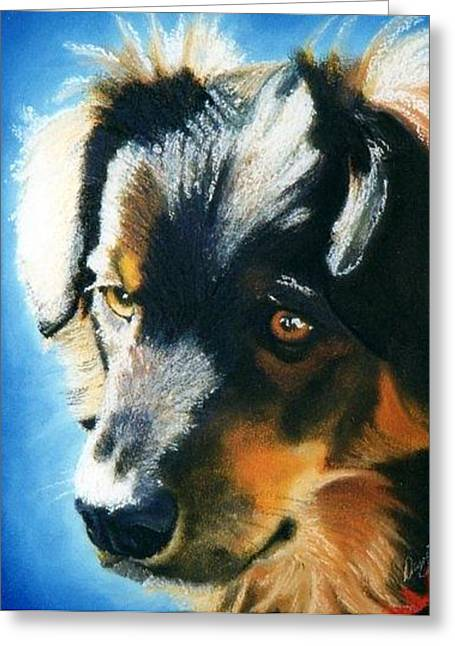 Photo-realism Pastels Greeting Cards - Bell Greeting Card by Danette Malerich