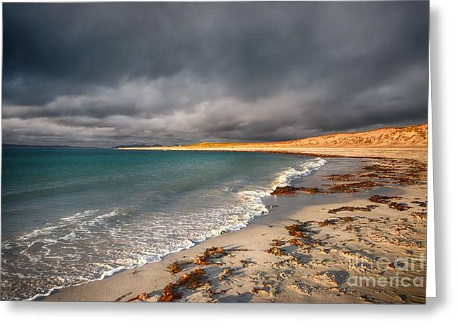 Berneray Greeting Card by Stephen Smith