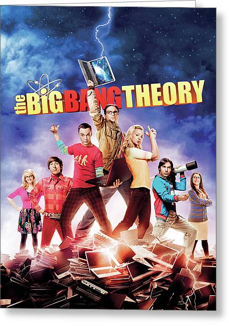 Big Bang Theory 2007 Greeting Card by Caio Caldas