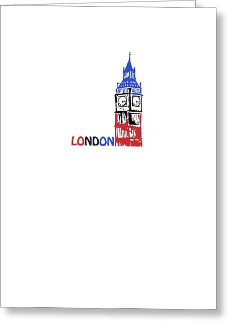 London Tapestries - Textiles Greeting Cards - Big Ben Greeting Card by Glen Heppner