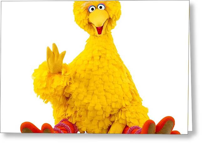 Big Bird Greeting Card by Sesame Street
