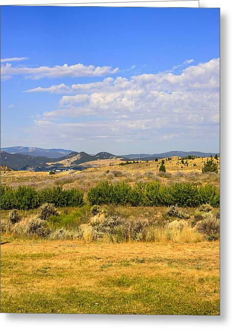Outlook Greeting Cards - Big Sky Montana Greeting Card by Chris Smith