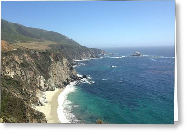 Big Sur Beach Greeting Cards - Big Sur Greeting Card by Patricia  Wensel