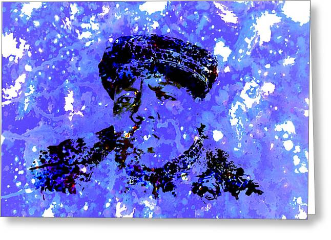 Biggie Smalls Greeting Card by Brian Reaves