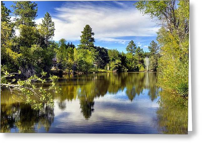 Prescott Greeting Cards - Blessed with Beauty Greeting Card by Thomas  Todd
