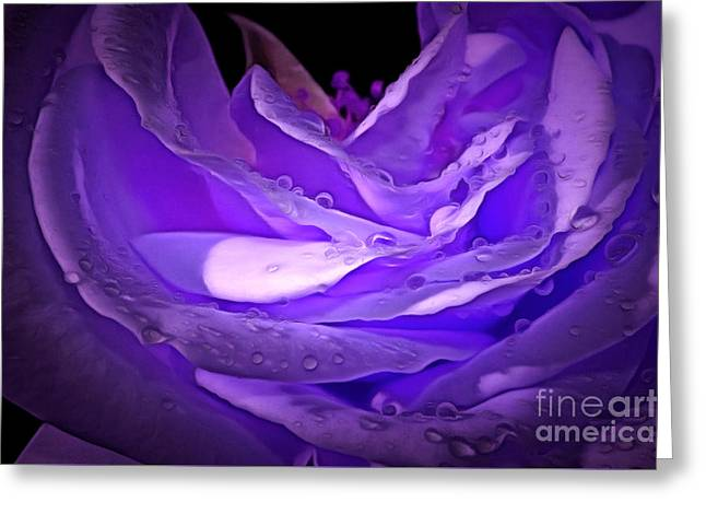 Blossom Of Love Greeting Card by Krissy Katsimbras