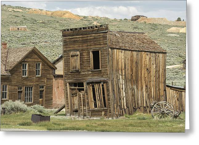 Goldrush Greeting Cards - Bodie Greeting Card by Christian Heeb