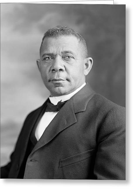 Booker T. Washington Greeting Card by War Is Hell Store