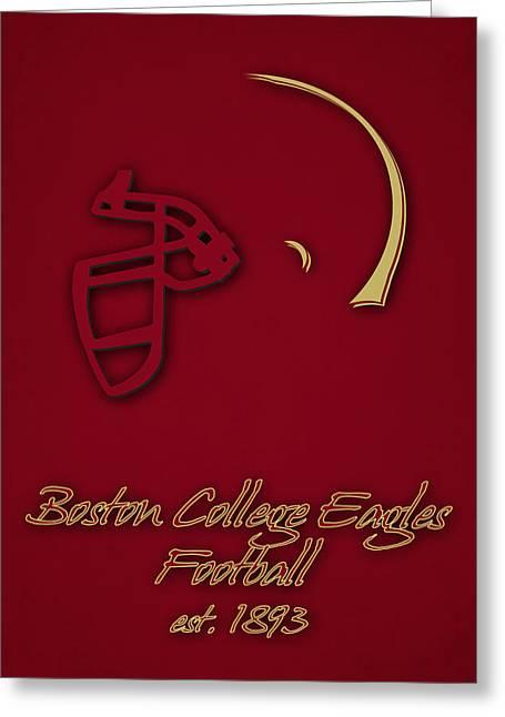 Boston College Eagles Greeting Card by Joe Hamilton