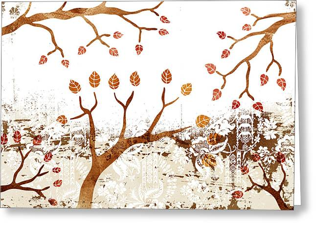 Branches Greeting Card by Frank Tschakert