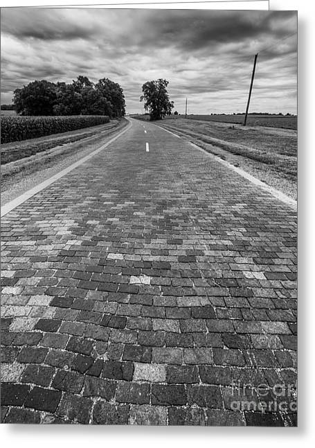 Brock Greeting Cards - Brick 66 Greeting Card by Twenty Two North Photography
