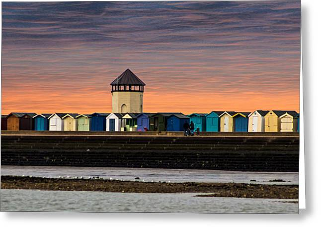 Brightlingsea Essex  Greeting Card by Martin Newman