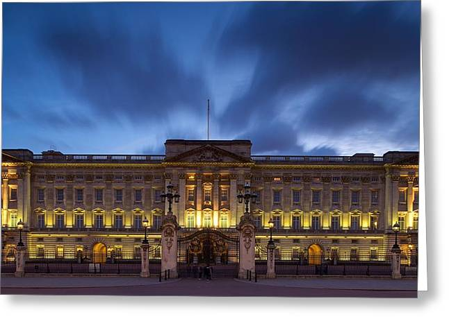 Buckingham Palace Greeting Card by Stephen Taylor