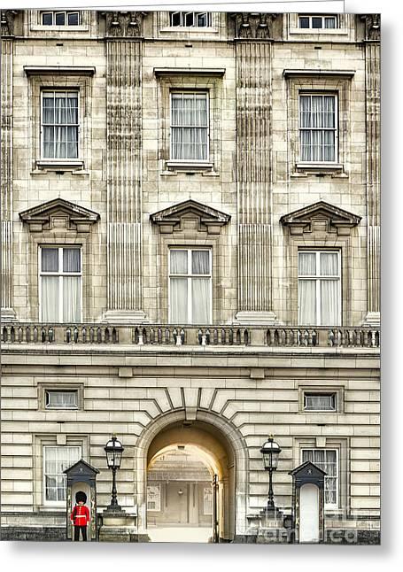 Buckingham Palace Greeting Card by Svetlana Sewell