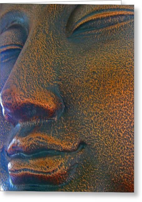 Buddha  Greeting Card by Cheryl Young