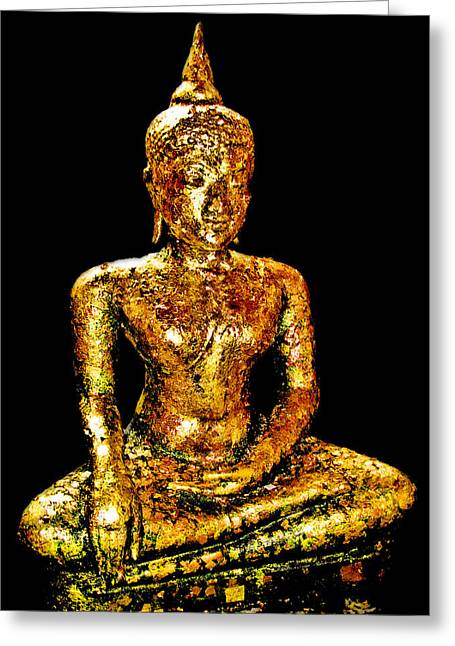 Allegoric Greeting Cards - Buddha. Siam. The Kingdom Of Thailand. Greeting Card by Andy Za