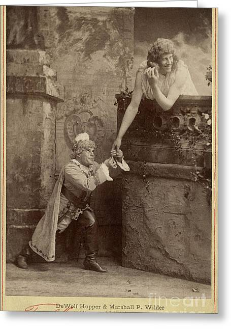 Burlesque Of Romeo And Juliet, 1888 Greeting Card by Folger Shakespeare Library