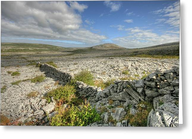 Burren National Park Greeting Card by John Quinn