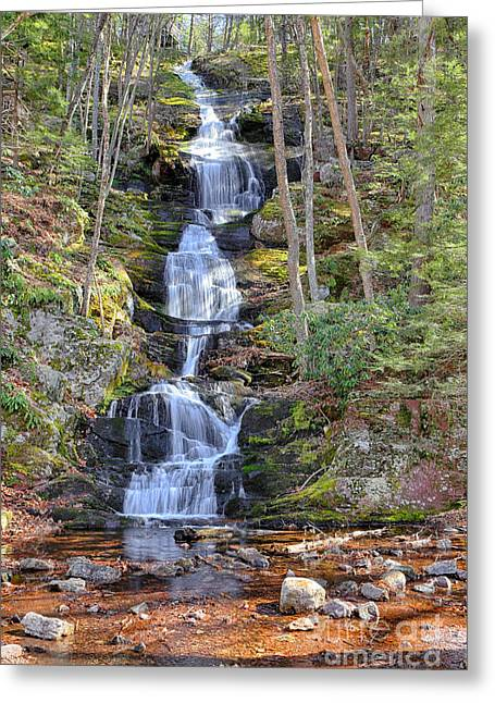 Buttermilk Falls Greeting Cards - Buttermilk Falls Greeting Card by Paul Fell