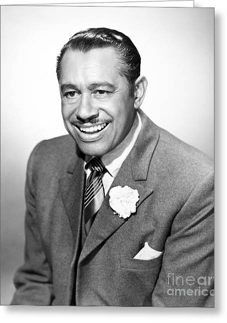 African-american Photographs Greeting Cards - Cab Calloway (1907-1994) Greeting Card by Granger