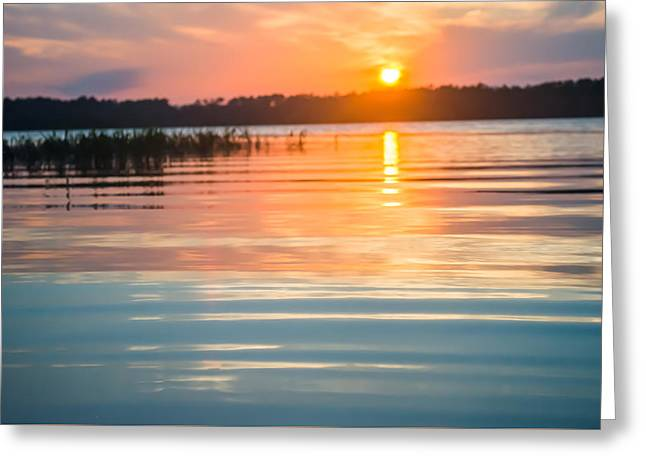 Lake House Greeting Cards - Calm Waters Greeting Card by Parker Cunningham