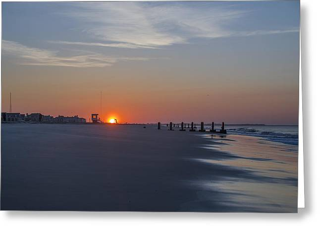 May Morning Greeting Cards - Cape May Morning Greeting Card by Bill Cannon