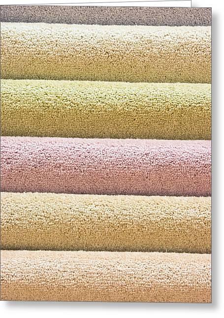 Carpets Greeting Card by Tom Gowanlock