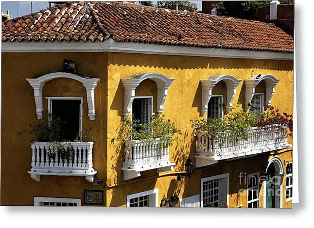 Cartagena Greeting Cards - Cartagena Greeting Card by John Rizzuto